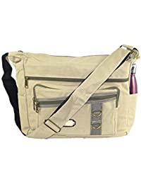 db26d4089e4b SEPAL Imported Cotton Jeans Cross Body Sling One Side Bag For College  Messenger Bag Zipper Closure