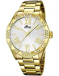 Lotus 15992/1 - Reloj de pulsera Mujer, Acero inoxidable, color dorado