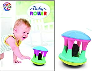 Ratna'S Musical Baby Roller For Toddlers