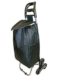 Stairclimber 6Roue Shopper chariot de courses pliable léger Sac Tri Wheeler