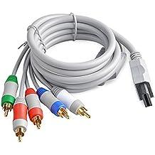 Neuftech HD Alto Definicion Componente cable Audio Video AV Cable Para Nintendo Wii & Wii U - 1.8m