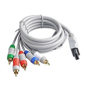 Neuftech 1.8M Wii Komponentenkabel YUV, HD AV Kable Adapter für Nintendo Wii