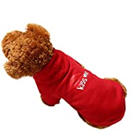 Amphia - Fleece-Kapuzenpullover,Hundehaustier Kleidung Hoodie Warme Sweatshirts Puppy Coat Apparel