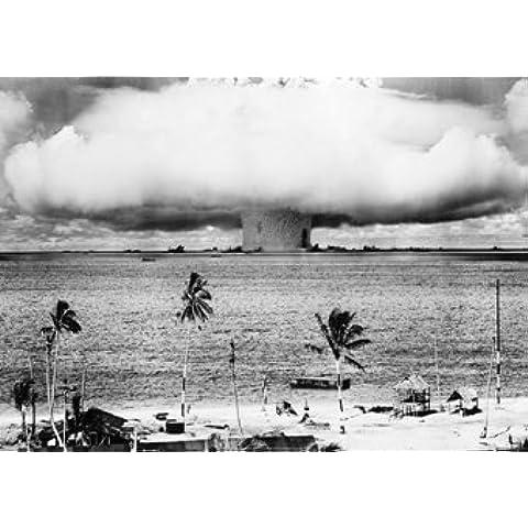 Bomba atomica esplosione Bikini Atoll carta Poster misure 86,4x 61cm (86,5x 61cm)