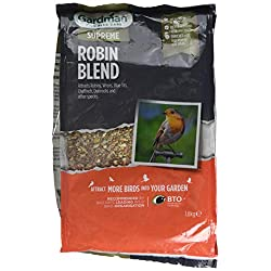 Gardman A06610 Robin Blend 1.8 kg, Multicolour, 19 x 11.5 x 29 cm