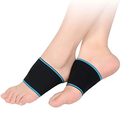 pbfone 1Paar Kompression Arch Unterstützung für die Herren und Damen-elastische Bandage Arch Plattfüße Fußgewölbe