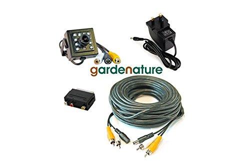 Bird Box Kamera Kit. Ultra Hi Res 700TVL HD Objektiv. 20m Kabel