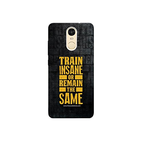 Train Insane Xiaomi Redmi Note4 Mobile Case by The Souled Store