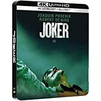Joker - Steelbook 4K Ultra HD + Blu-Ray