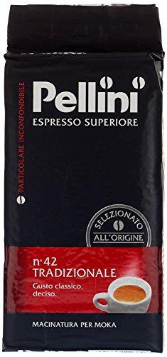 Pellini Caffè Tradizionale, Gemahlen, 4er Pack (4 x 250 g)