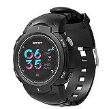 Lorjoy LCD-Benachrichtigung Health Tracker Schlafen/Herzfrequenz-Test IP68 wasserdicht Sport Smart Watch