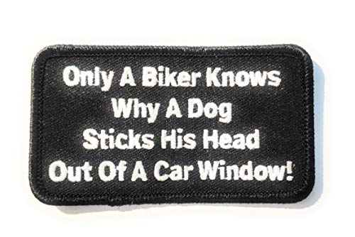Titan One Europe - Only A Biker Knows Motorcycle Old School Biker Jacket Patch Parche Motero Bordado Termoadhesivo