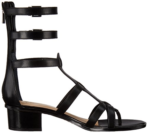 Marc Fisher Fawn Leder Gladiator Sandale Black
