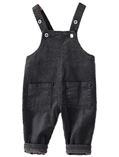 ARAUS Baby Latzhosen Cord Overall Jumpsuit Babyhosen Unisex für 0-3 Jahre -
