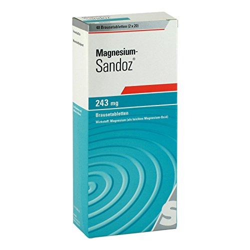 Magnesium-Sandoz 243 mg, 40 St. Brausetabletten