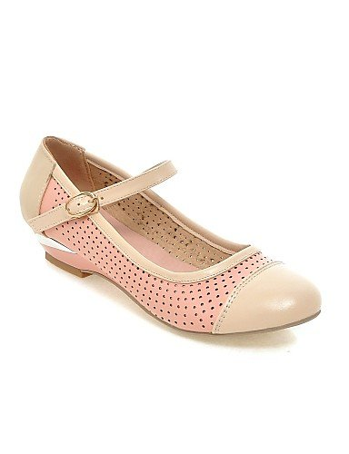 ZQ Scarpe Donna - Mocassini - Casual - Zeppe - Zeppa - Finta pelle - Blu / Rosa / Bianco , pink-us8.5 / eu39 / uk6.5 / cn40 , pink-us8.5 / eu39 / uk6.5 / cn40 white-us10.5 / eu42 / uk8.5 / cn43