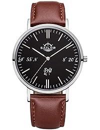 , Farbe Armband:Leder Braun