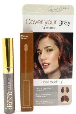 Cover Your Gray Wurzel Nachbesserungsfarbe (6er-Pack) Mittelbraun (Touch-up-wurzeln)