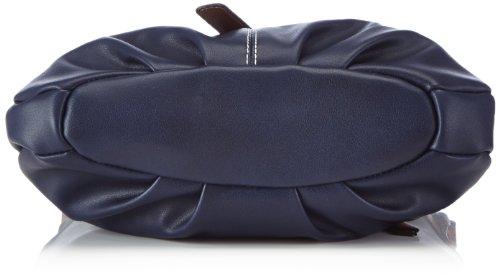 Rieker H1324, Borsa a spalla donna Blu (Blau (royal 14))