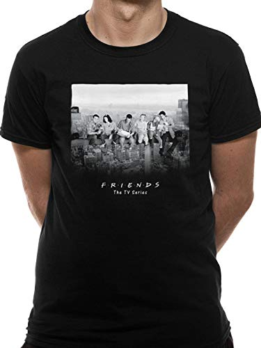T-Shirt (Unisex-S) Skyscraper (Black) [Import anglais]