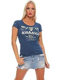 Yakuza Premium camiseta para señoras GS-2136 azul