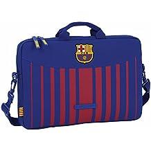 """Safta 611729461 - Funda ordenador 15,6"""", con estilo Futbol Club Barcelona"""