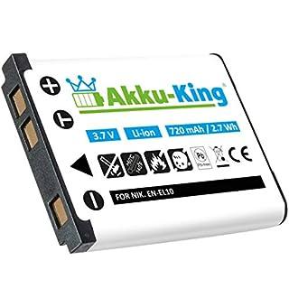 Akku-King Akku kompatibel mit Bosch S6EA - Li-Ion 720mAh - für Bosch Nyon