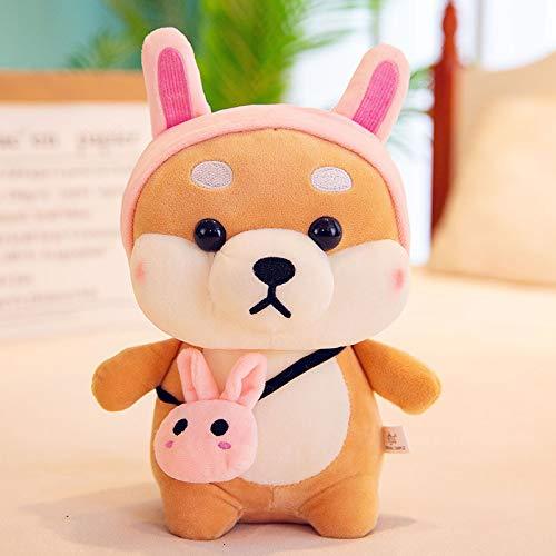 GGsmd Akita Hund Puppe Plüschtier Stirbt Welpen Puppe Geburtstagsgeschenk 45Cm (0.88Kg) Kaninchen Plüschtier (45 Auto Stirbt)