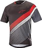 Alpinestars Predator S/Jersey, Herren, Black Steel Gray Red