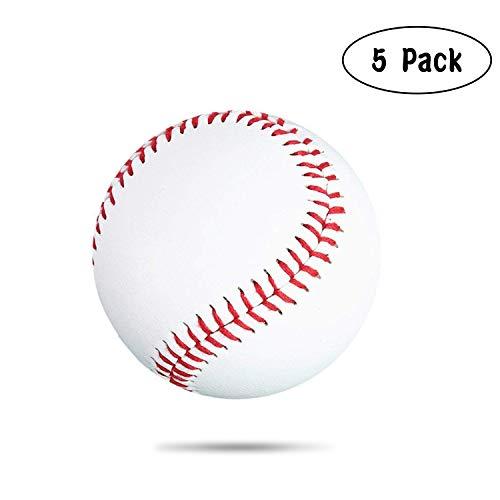 kekai Soft Baseball Softbälle Weicher Ball Training Ball Anfänger Baseball bälle für Spiel, Praxis und Entertainment