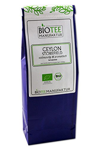 Ceylon Storefield – Bio, Schwarzer Tee lose (1 x 100g)