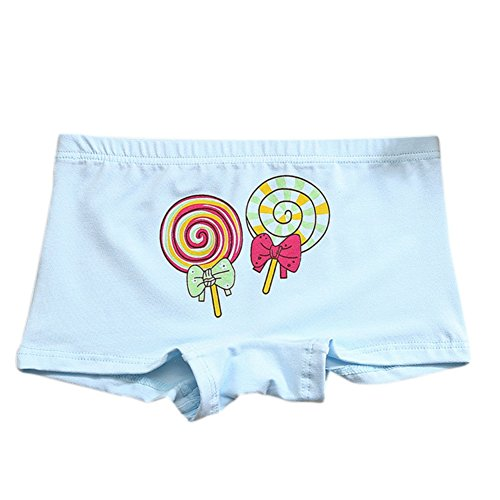 Shiningup Little Boy Girl Briefs Boxer Short Pant Candy Cute Printed Knickers Modal Boyshort For 3-10 Years Old