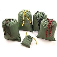 everest1953 5er Set Aufbewahrungsbeutel Flachbeutel Packtasche schafft Ordnung im Rucksack