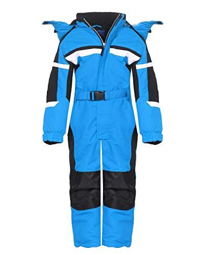 PM Kinder Outdoor Skianzug Snowboard Unisex Jungen Mädchen Funktionsanzug Hardshell Schneeanzug Winter LB1226 blau 116   07426792423644