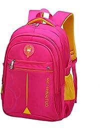 QUAN YOU Mochila Escolar - Mochila de Moda Casual para niños de Gran Capacidad Equipaje/