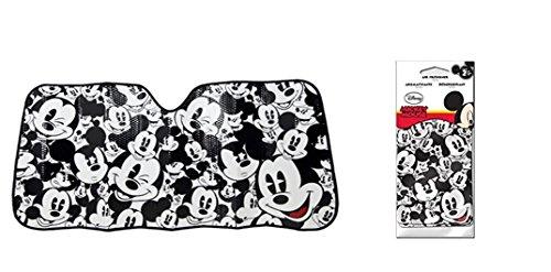 Disney-Mickey espressioni auto parasole auto Accessories 58x 28