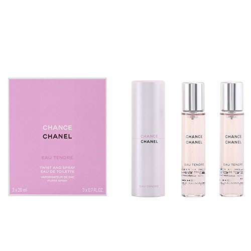 Chanel Chance Tendre femme/woman, Geschenkset (Eau de Toilette, 3x 20 ml), 1 Set