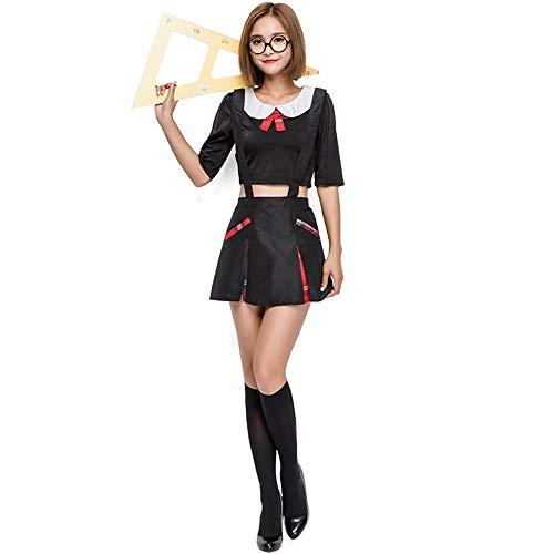 XINGMU Halloween Kostüme Lehrer Sekretärin Rolle Spielen Party -