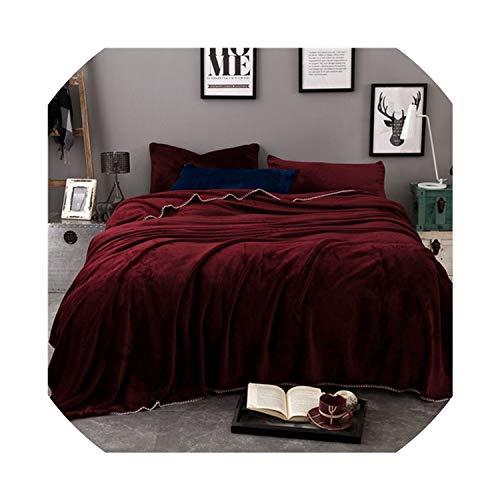 La vida overlock manta lana cubierta ropa cama franela
