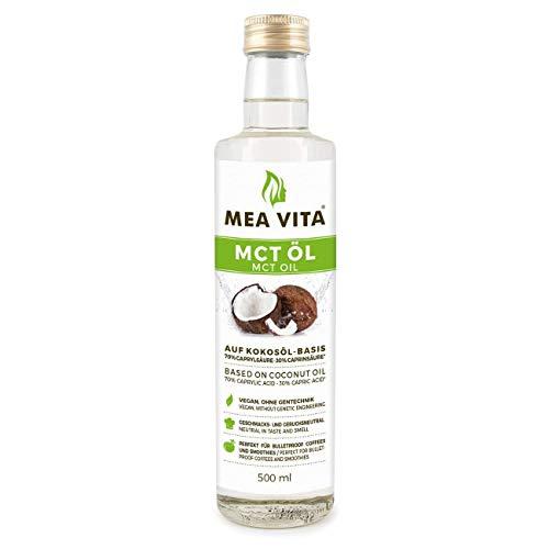 MeaVita MCT Öl, Premium Qualität, 1er Pack (1x 500 ml )