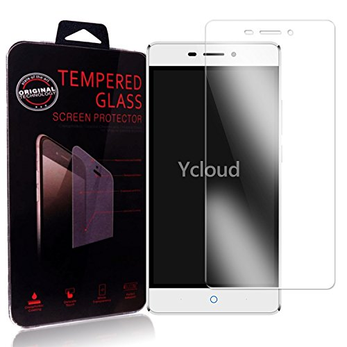 Ycloud Panzerglas Folie Schutzfolie Bildschirmschutzfolie für ZTE Blade V580 screen protector mit Härtegrad 9H, 0,26mm Ultra-Dünn, Abger&ete Kanten