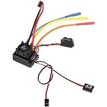 MagiDeal Brushless 60A ESC Motor Controlador de Velocidad para 1/10 RC Coche Camión Crawler Partes
