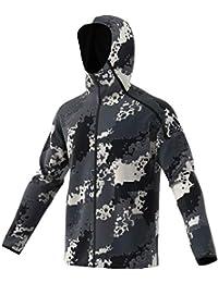 online store 74eff 4ca5c adidas M ZNE HD Chaqueta con Capucha Hombre Gris Camouflage DT9522
