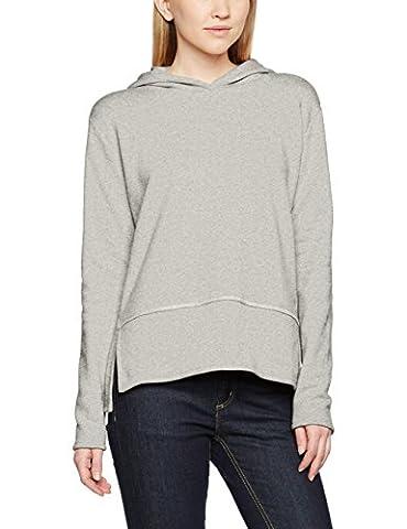 Marc O'Polo Damen Sweatshirt 702412954107 Grau (Summer Grey 934), X-Large