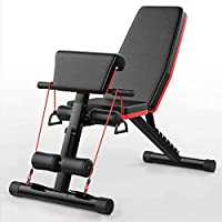 Multifunction Weight Bench ab Bench, Incline Decline Foldable Weight Lifting Bench Adjustable Sit Up Bench for Home, roman chair, weightlifting and Roman chair