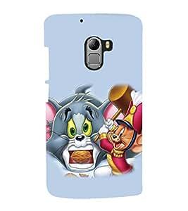 printtech Tom & Jerry Back Case Cover for Lenovo Vibe K4 Note
