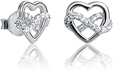 Pendientes Viceroy Jewels 7070E000-30 Corazón Infinito San Valentín