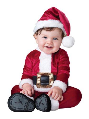 Baby Santa Boys 0-24 M Fancy Dress Father Christmas Festive Infant Child Costume (0 -6 (Fancy Christmas Dress Boys)