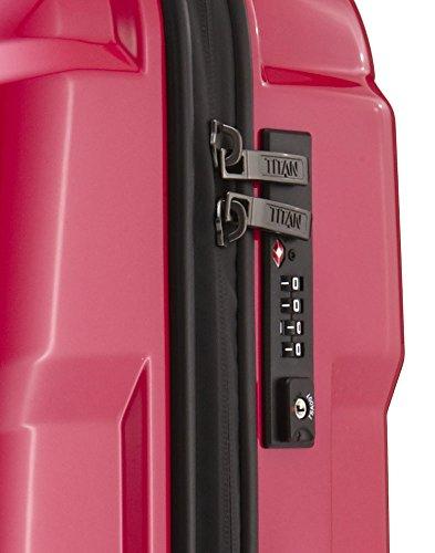 TITAN X2 Hartschalenkoffer Handgepäck, 825406-28 Koffer, 55 cm, 40 L, Fresh Pink - 6