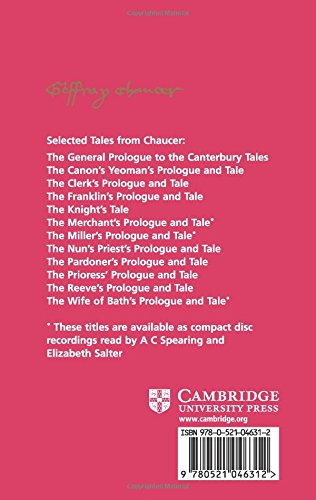 The Merchant's Prologue and Tale (Selected Tales from Chaucer)